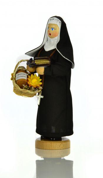 163 Die Nonne Hildegard von Bingen Seitenansicht